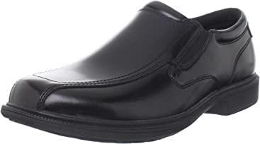 Nunn Bush Mens Bleeker Street Slip-On KORE Slip-Resistant Dress Casual Loafer