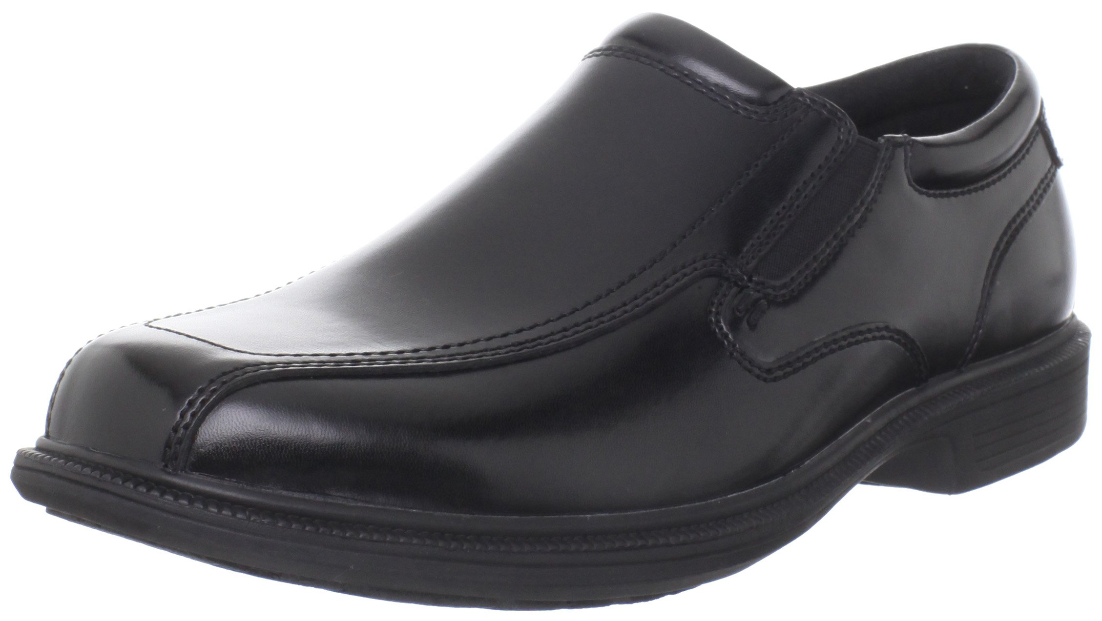 Nunn Bush Men's Bleeker St Slip-On Loafer,Black,14 W US by Nunn Bush
