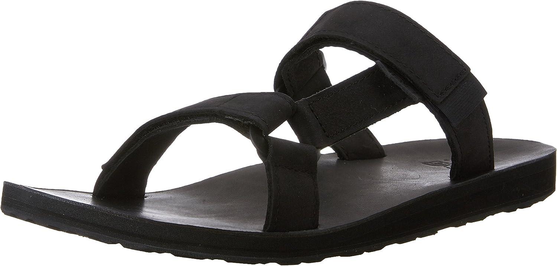 Teva Men's Universal Slide Leather Sandal 713IO6aJ3CL