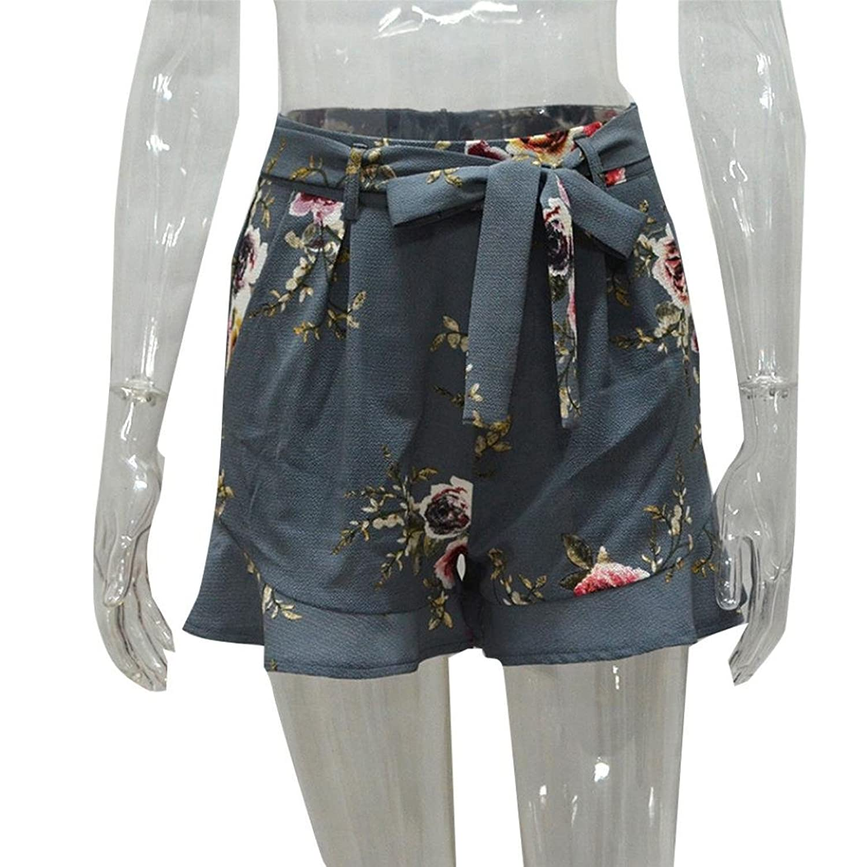 Damen Shorts, SHOBDW Damen Frauen-Rock-Sommer-Druck-kurze Hosen: Amazon.de:  Bekleidung