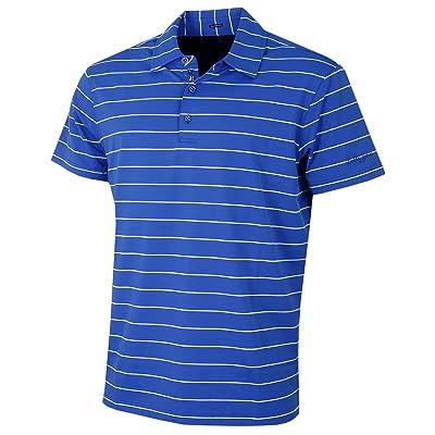 Bobby Jones Golf Apparel - Short Sleeve XH2O Jersey Momentum Stripe Polo Shirt for Men: Sports & Outdoors