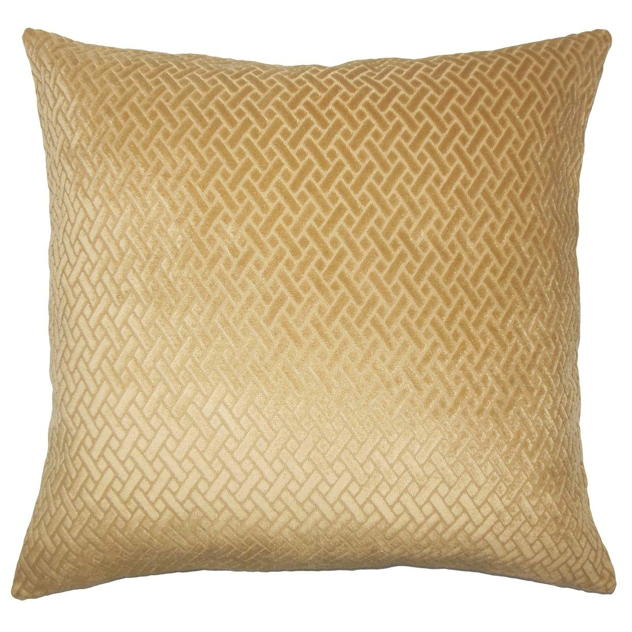 Amazon.com: The Pillow Collection Delora Solid Down - Cojín ...