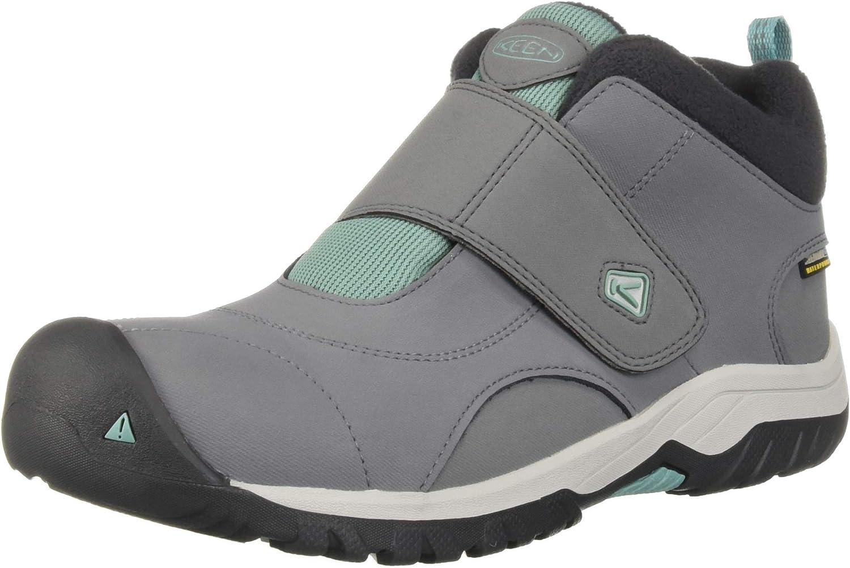 KEEN Kootenay II WP Hiking Boot, Steel Grey Wasabi, 2 M US