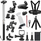 SKYREAT Kit di Accessori di espansione per DJI Osmo Pocket Videocamera palmare Supporti Fascia Toracica per Auto Zaino per Bici Supporto per treppiede per Osmo Pocket