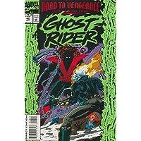 Ghost Rider (Vol. 2) #42 VF/NM ; Marvel comic book
