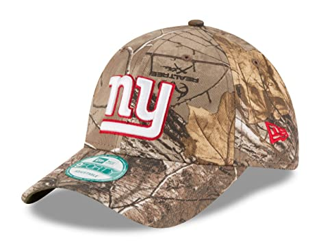 New York Giants The League Realtree Camo 9FORTY Adjustable Hat   Cap 5a92309fb90