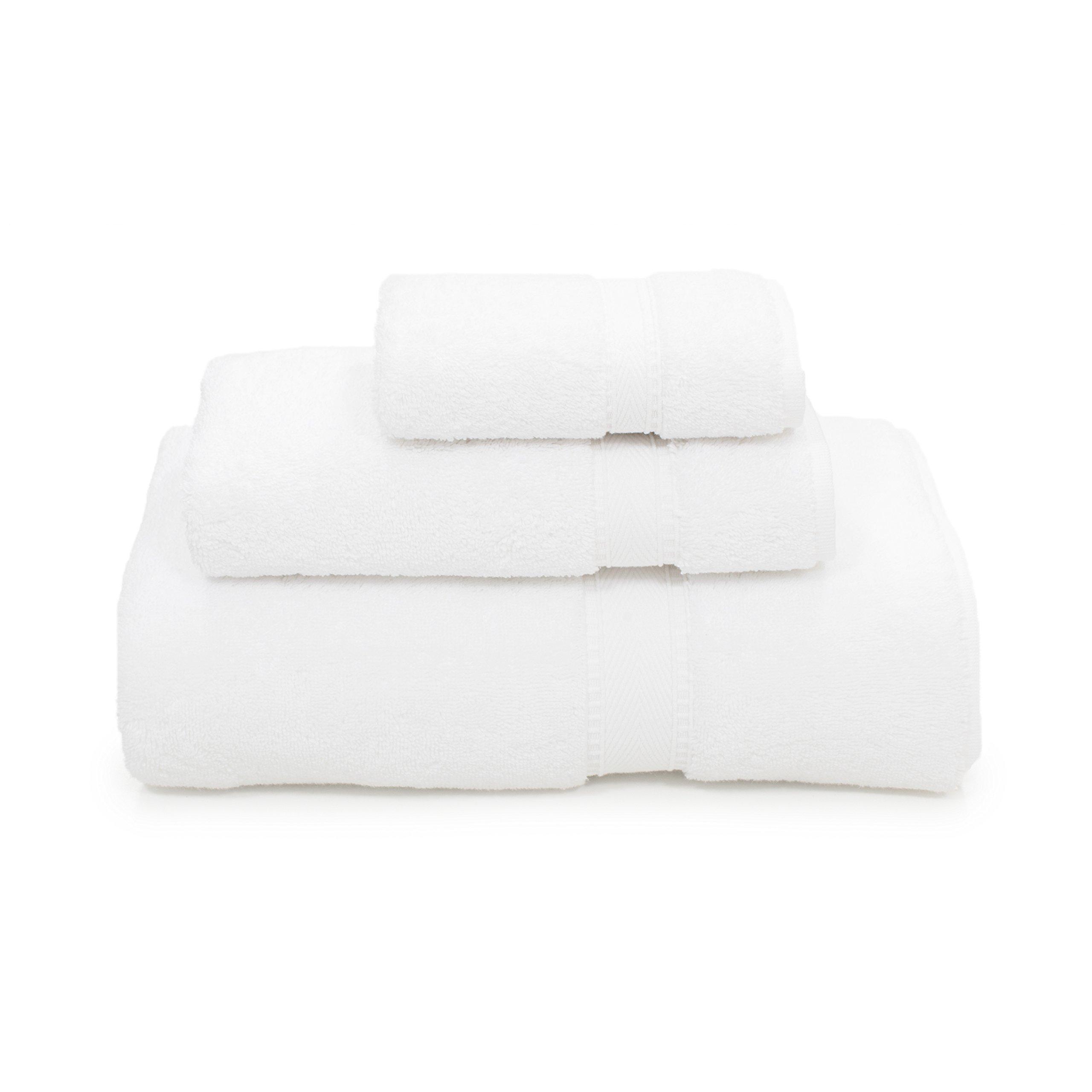 Linum Home Textiles SN00-3C Bath Towel White by Linum Home Textiles
