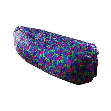 XD Tech - Puff Hinchable Camuflaje Multicolor: Amazon.es ...