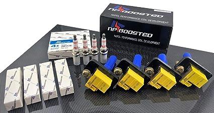 4 Pack Ignition Coils for JDM Subaru EJ20 EJ205 EJ206 EJ207