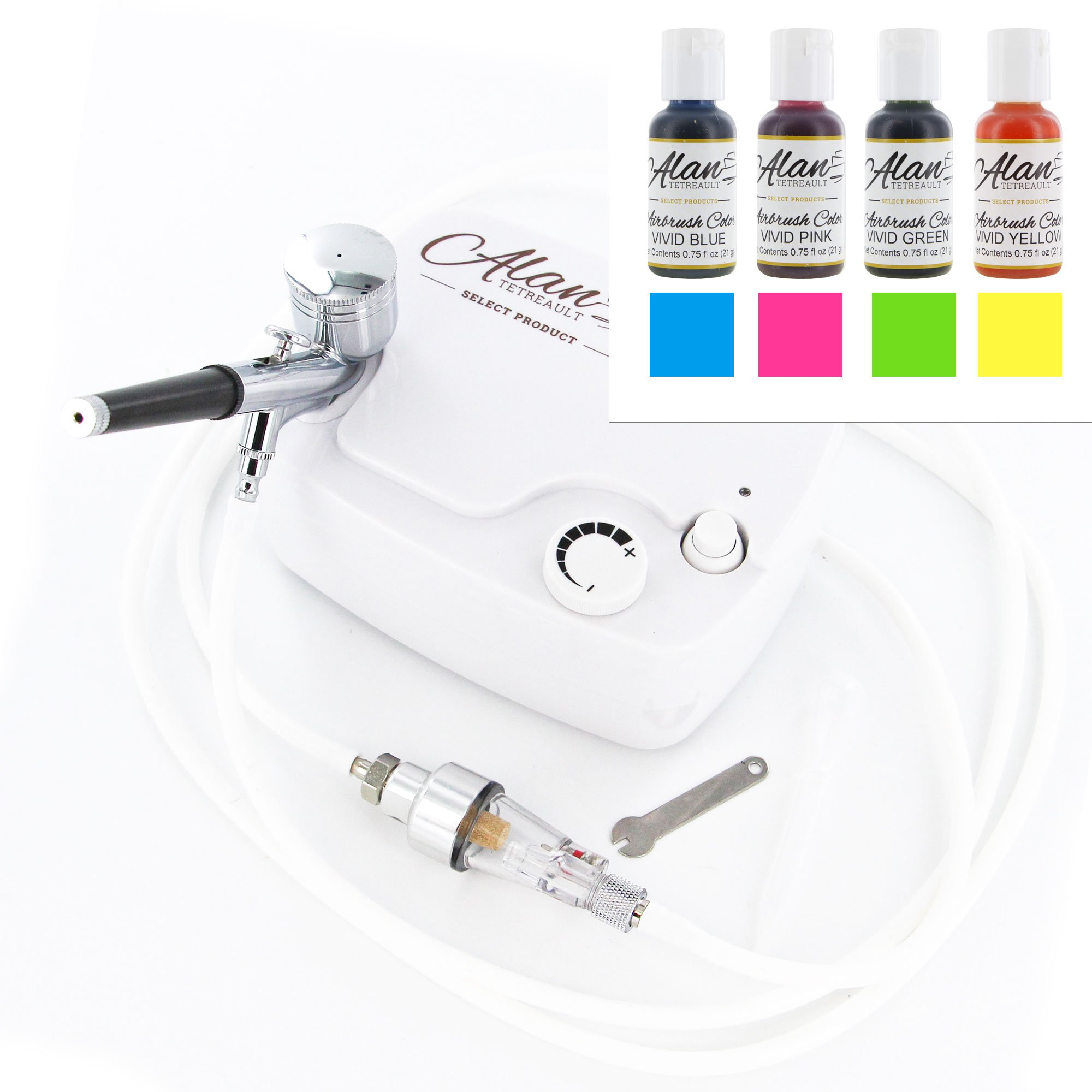 Airbrush & Compressor Kit