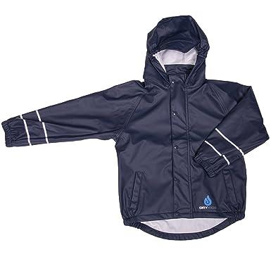 f26b41032 DRY KIDS Childrens Waterproof Jacket PU Coated. Boys and Girls ...