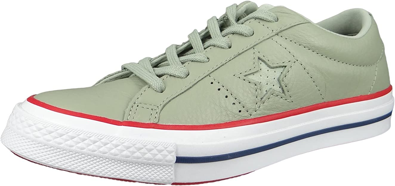 Converse One Star Ox Shoes sage/Gym red