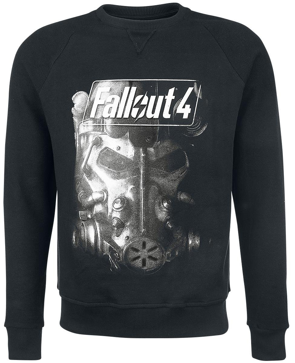 Fallout 4 - Brotherhood Of Steel Pullover nero L New