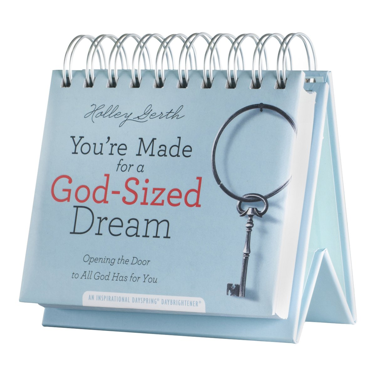 Flip Calendar - Holley Gerth - You're Made for a God-Sized Dream by Dayspring