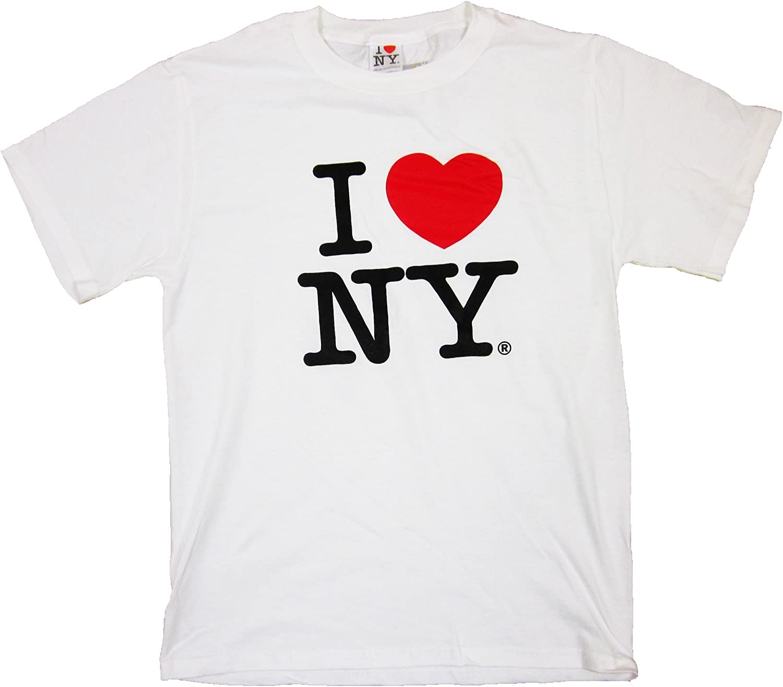 I Love New York I Heart NY T Shirt USA America Men/'s White t-shirt