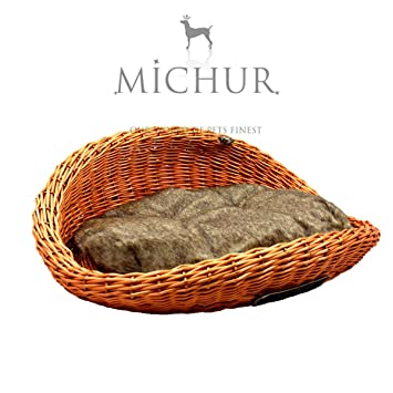 MICHUR FLYINGHEART COGNAC, Cama del perro, cama del gato, cesta del gato,