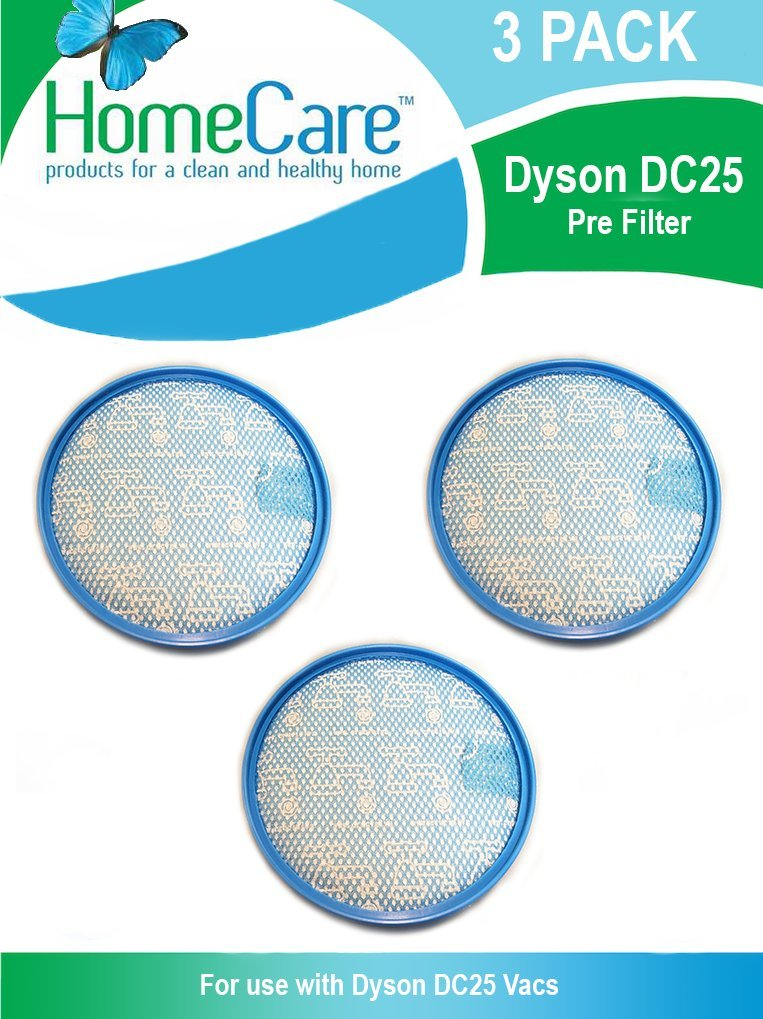 Home Care Dyson dc25 Preフィルタ3パック B079RLFM1M