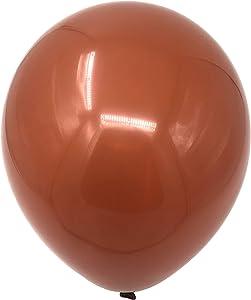 "Allgala 100ct 12"" Helium Grade Premium Latex Balloons-Brown-BL52016"