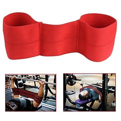 Ueasy reactiva tirachinas para hacer pesas levantamiento de pesas banco prensa Sling Fitness principiantes alimentación cuello