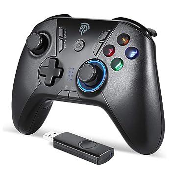 Amazon.com: EasySMX 2.4 G controlador inalámbrico para PS3 ...