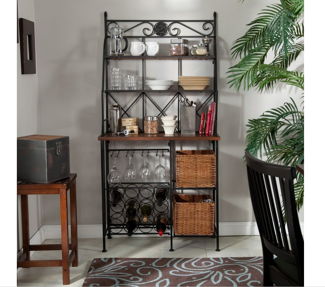 bakers simple ideas to with home design how decorate drawers racks iron rack