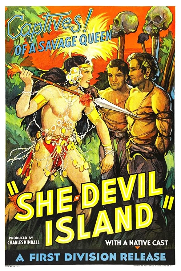 She Devil Island Movie Poster Masterprint (60,96 x 91,44 cm ...