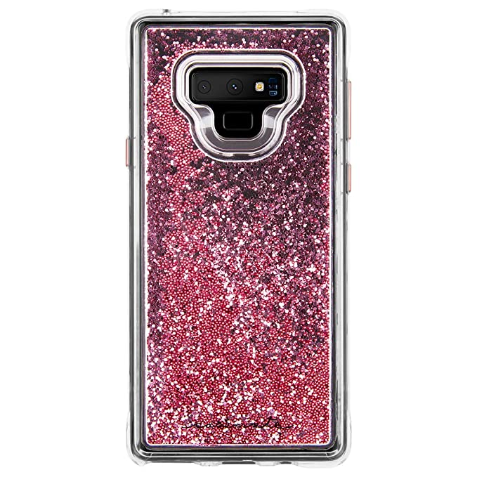 new product ac287 6e6d0 Case-Mate - Note 9 Case - Waterfall - Galaxy Note 9 Case - Rose Gold