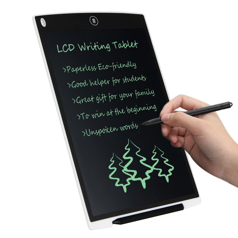 Noir LCD Tableau d/Écriture Num/érique 8.5 pouces Tablette Graphique /Électronique LCD Writing Tablet,sans papier /Écriture pour et le peinture Convient pour l/école /à domicile Bloc-notes de bureau.