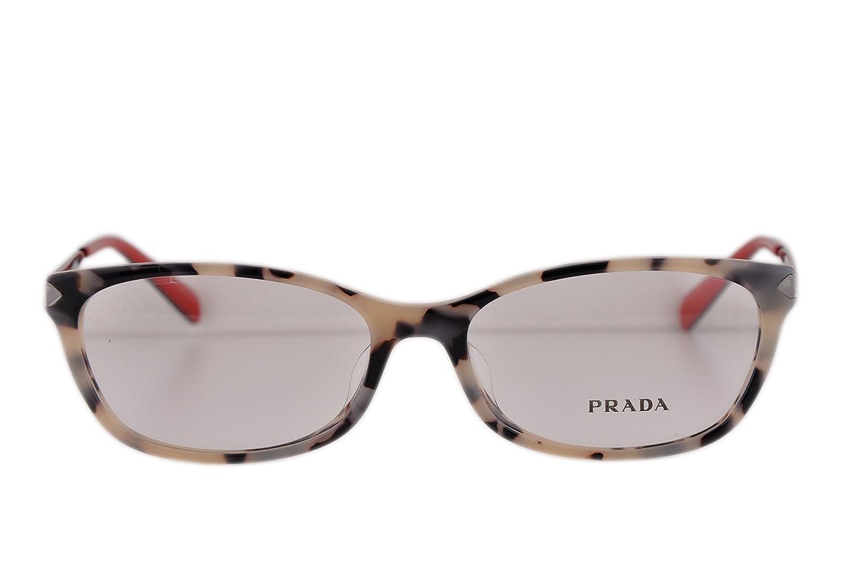 187263c780356 ... coupon code for amazon prada pr27rv eyeglasses 54 16 140 white havana  kad1o1 vpr27r for women