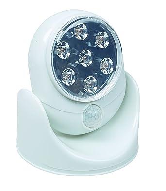 Idena 10034737 Led Lampe Mit 7 Leuchten Kabellos Bewegungsmelder