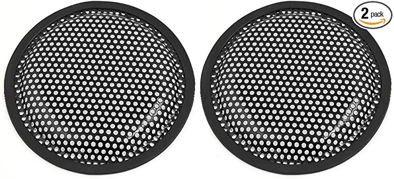 X AUTOHAUX 4pcs Grill Cover 6 Mesh/Protector Car Speaker Cover Woofer Subwoofer Grill