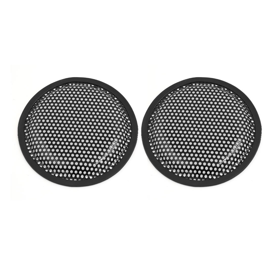 uxcell a16010800ux0165 2pcs 6 inch Car Speaker Mesh Sub Woofer Subwoofer Grill Dust Cover, 2 Pack