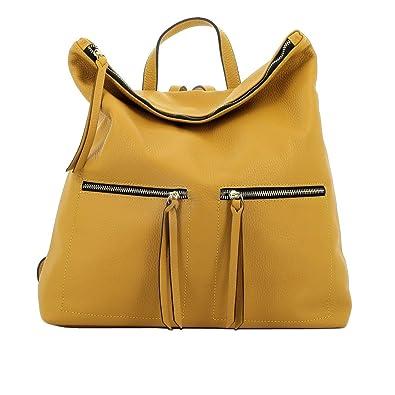 Schultertasche Aus Echtem Leder Für Damen Farbe Rot - Italienische Lederwaren - Damentasche Dream Leather Bags Made in Italy U3mKzcJwG