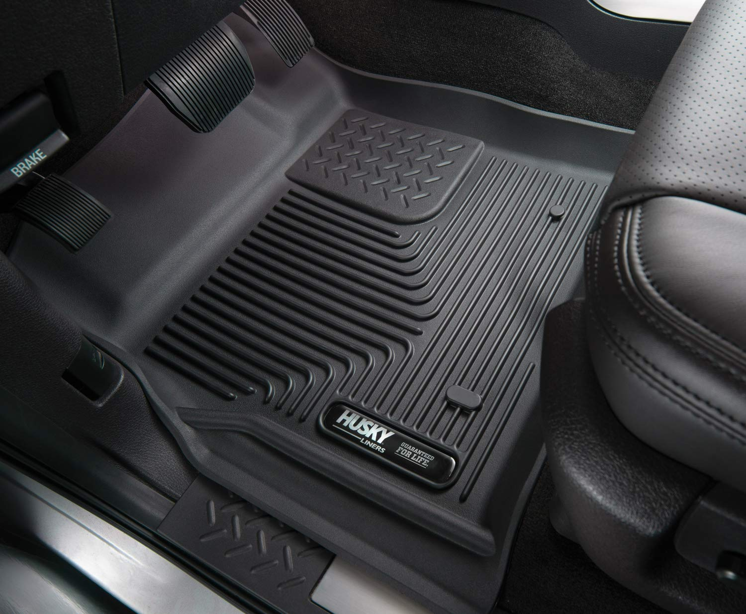 Husky Liners 52271 Black Front Floor Liners Fits 16-18 Chevrolet Malibu by Husky Liners (Image #2)