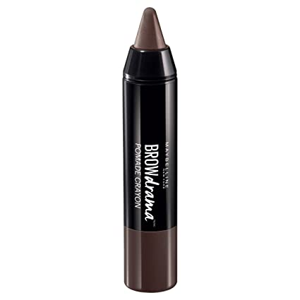 Maybelline New York Brow Drama, Máscara De Cejas, Dark Brown 004-1 Máscara