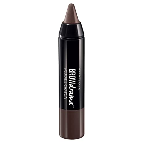 3b6b0f139ff Buy 4 Dark Brown : Maybelline Brow Drama Crayon 4 Dark Brown Online at Low  Prices in India - Amazon.in