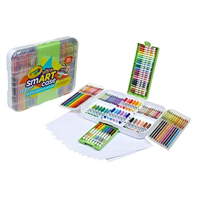 Crayola Ultra Smart Case Next Generation Art Set Age 6+: Toys & Games