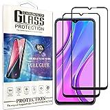 Cindy Mica para Samsung Galaxy A12/A32 Screen Protector,2-Pack Cristal Templado Protector de Pantalla para Xiaomi redmi 9/9 P