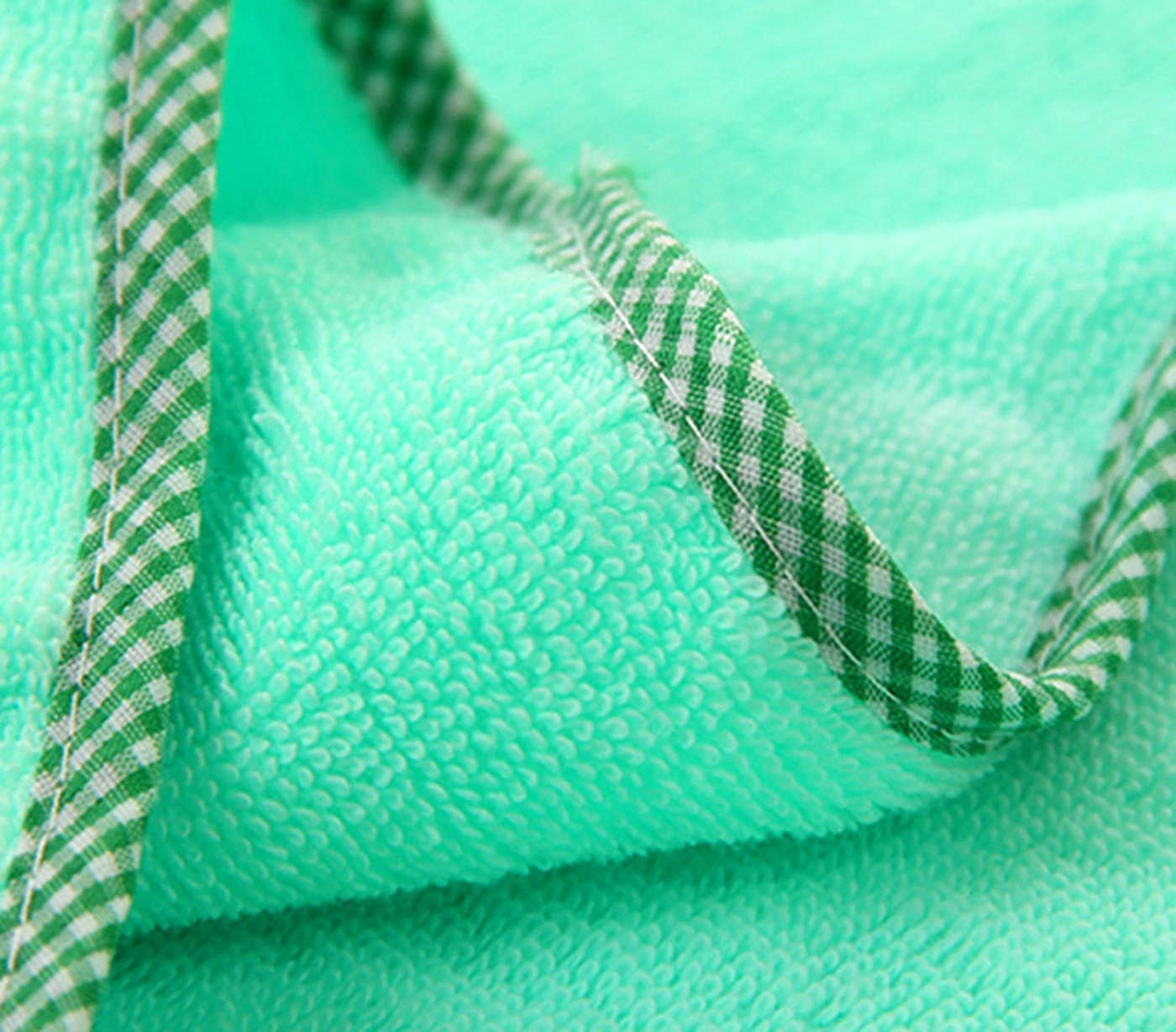 FEOYA Baby Bath Towel Terry Cotton Adorable Bear Hooded Washcloth
