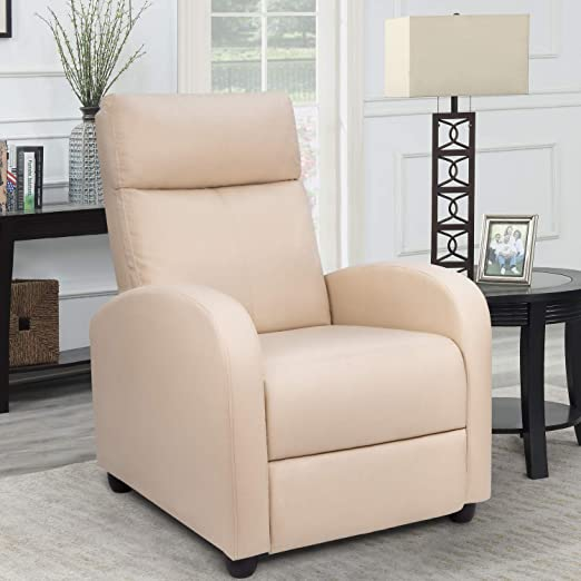 Living Room Sofa Recliner - Adjustable To Small Spaces