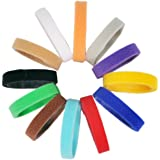 "All4pet DC-P80 14"" Long Velcro Puppy ID Bands, Soft, Adjustable & Reusable, 12 Colors"