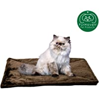 Furhaven Pet Dog Bed Mat | Insulated Self-Warming Pet Bed Mat, Water-Resistant Thermal…