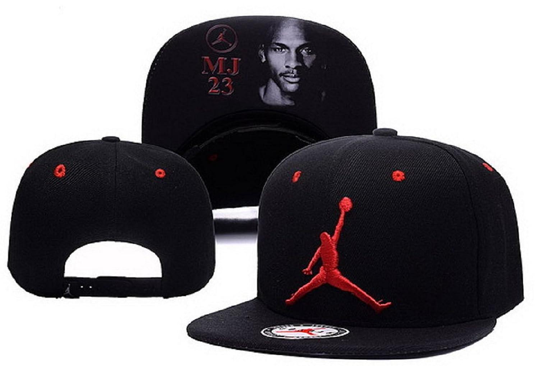 Cappello Air Jordan regolabile Hip Hop Sport Fans Hyst Unisex eresen Logo  cappellino da Baseball (Nero fcbd1309e223