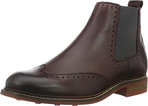 Marc O'Polo Damen 61010145001125 Flat Heel Chelsea Boots