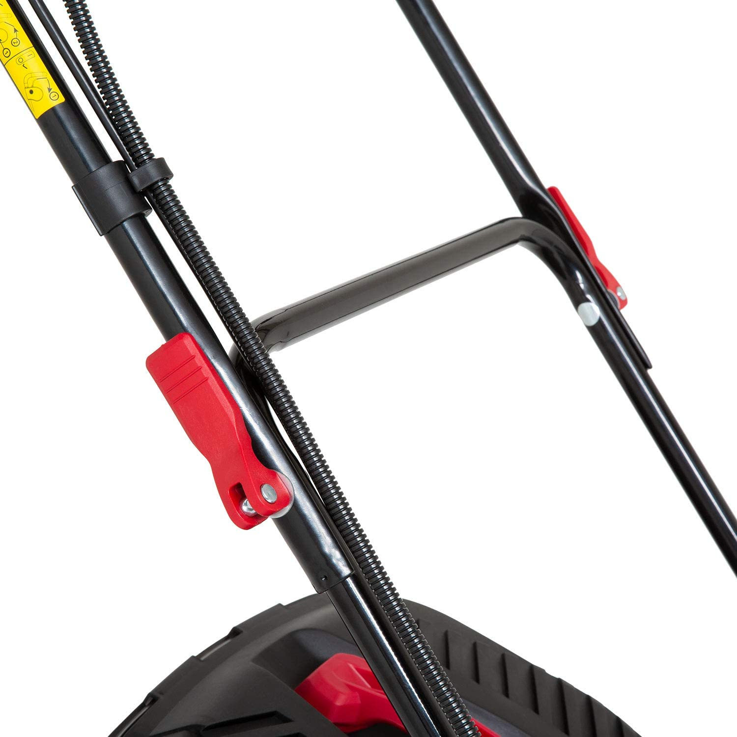 Red Lithium-Ion 44cm Cordless Lawn Mower 440P18V 5 Years Warranty Including 2X 5Ah Battery and Dual Charger 36V Sprint 2x18V