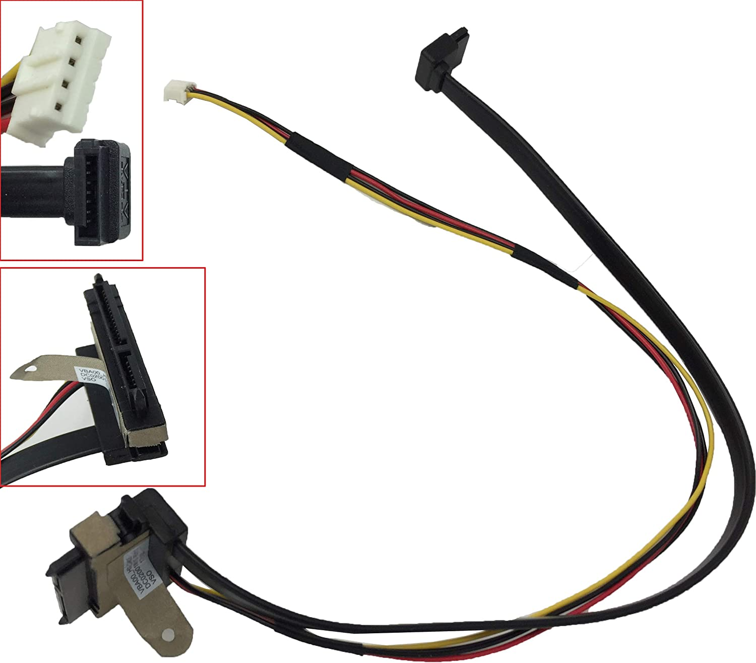 Hard Drive HDD Cable Connector for Lenovo C540 C560 Compatible DC02001MU10 VBA00-HDD-CABLE R 1.0