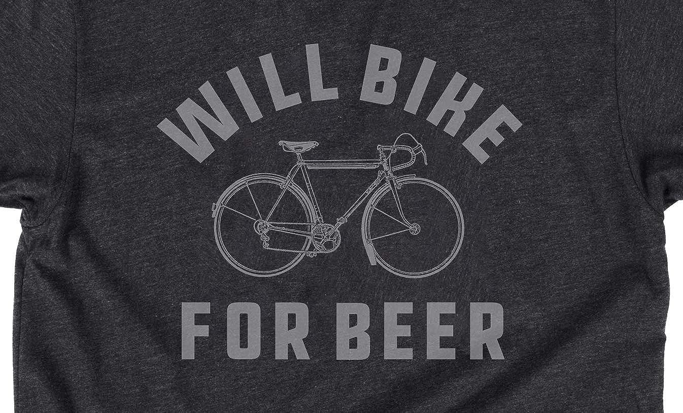 Cycling Tee I Cycle For Beer funny top Birthdaytee tshirt T SHIRT T-SHIRT