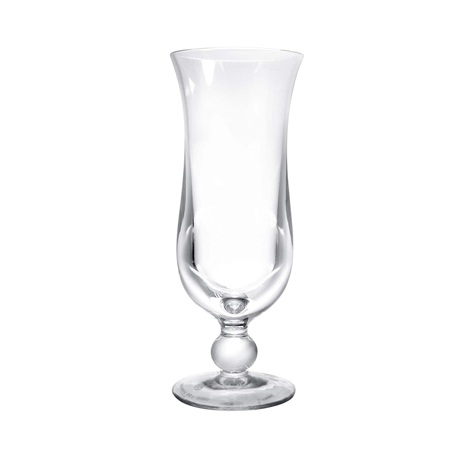 "Elite Global Solutions DW11PC-CL Hurricane Glass, 3"" Dia. x 8"" h, Polycarbonate, Clear Polycarbonate (Pack of 24)"
