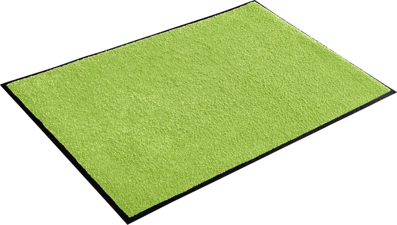 Wash+dry Fußmatte grün Größe 75x150 cm