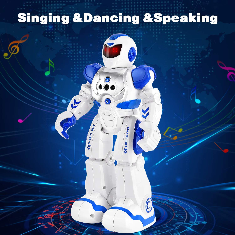 Rainbrace Programmable RC Robot for Kids Remote Control Robot Singing Dancing Smart Robotics for Boys Girls Birthday Gift Robot Toys 3-10 Years Old Children by Rainbrace (Image #3)